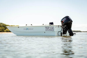 Powered by 30 - 60hp outboard