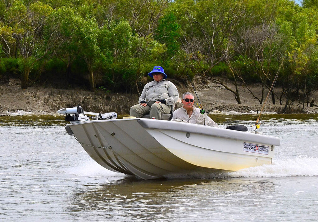 Chasing barra in the Northern Territory