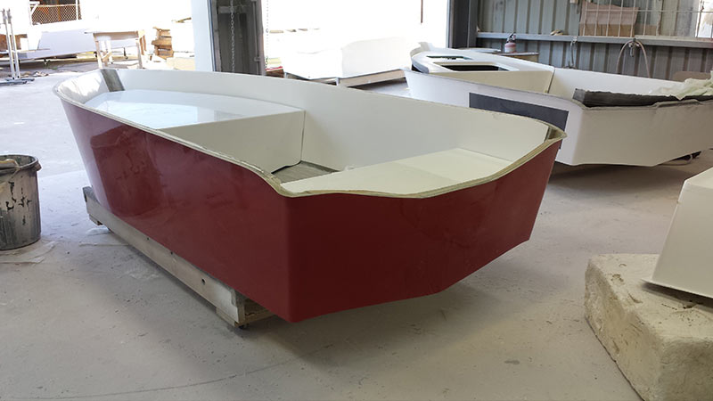 infusion fibreglass boat construction